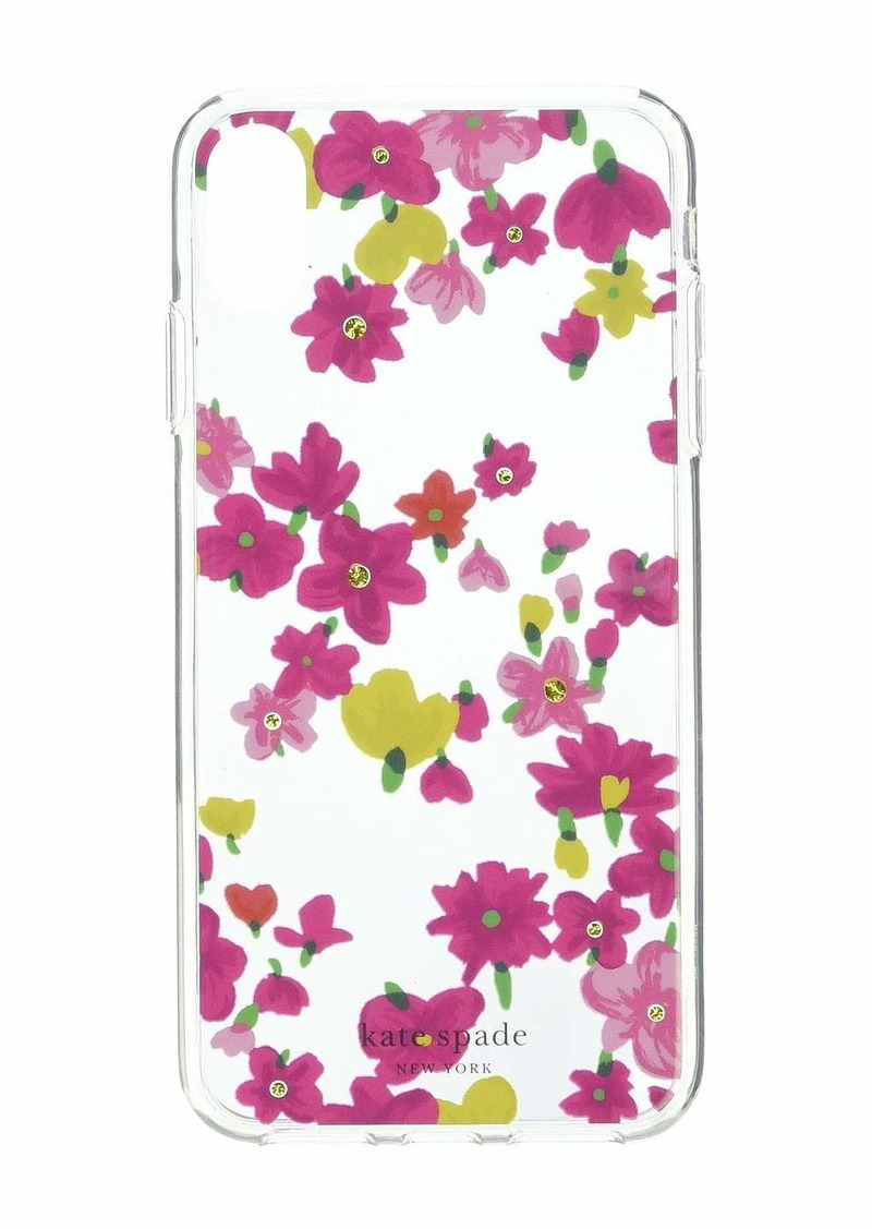 Kate Spade Jeweled Marker Floral Phone Case for iPhone X Plus