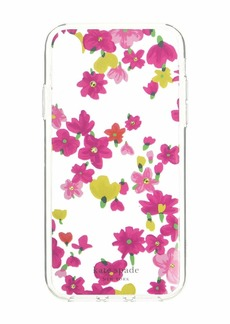 Kate Spade Jeweled Marker Floral Phone Case for iPhone XR