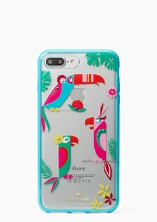 Kate Spade jeweled parrots iphone 7 plus case