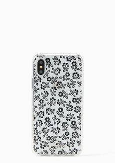 Kate Spade jeweled plains iphone x & xs case