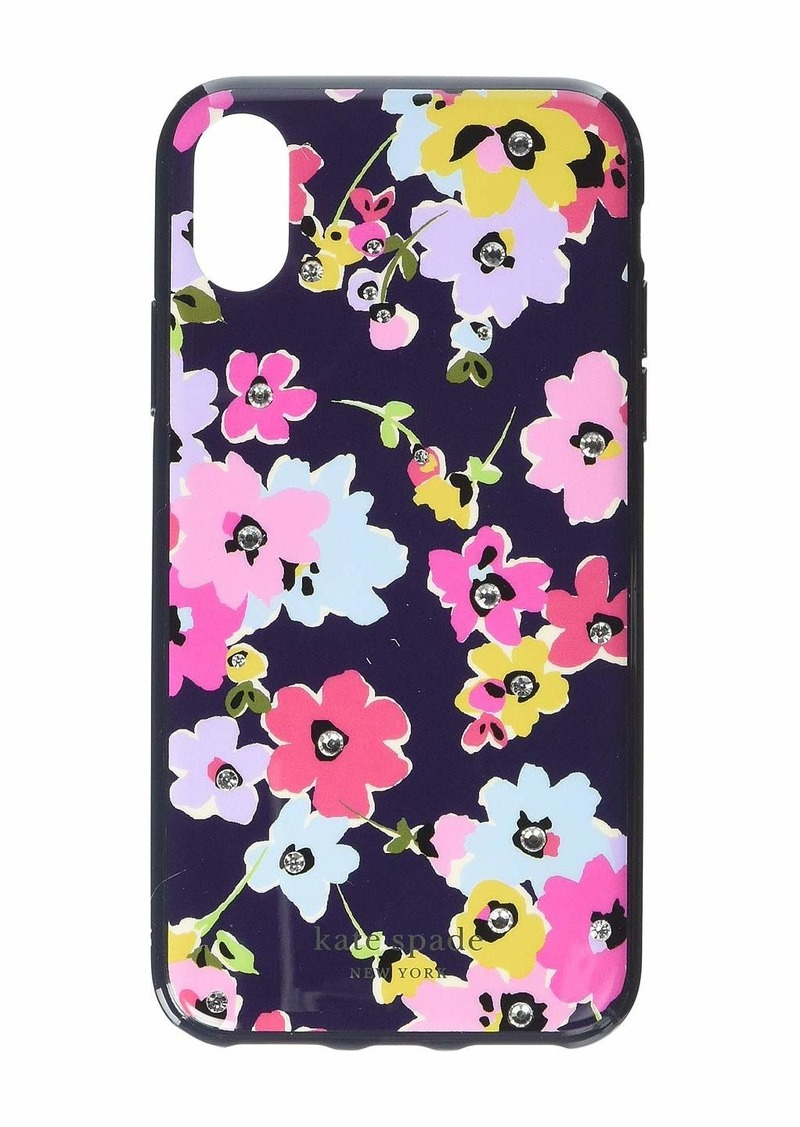 Kate Spade Jeweled Wildflower Phone Case for iPhone XS
