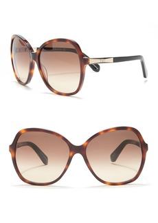 Kate Spade jolyn 58mm oversized sunglasses