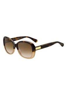 Kate Spade judyann polarized butterfly sunglasses