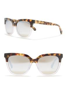 Kate Spade kahli/s 53mm polarized retro sunglasses