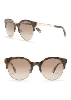 Kate Spade kaileen 52mm clubmaster sunglasses