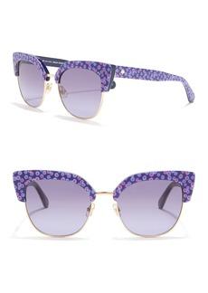Kate Spade karri 53mm clubmaster sunglasses