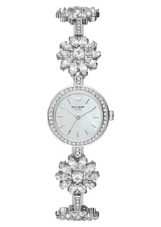 kate spade daisy crystal watch, 20mm