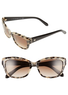 kate spade 'johanna' 53mm retro sunglasses