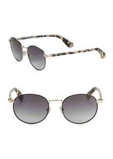 Kate Spade New York 50MM Round Sunglasses