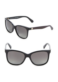Kate Spade New York 51MM Polarized Square Sunglasses
