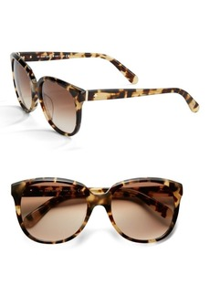 Kate Spade New York 55MM Bayleigh Modified Cat Eye Sunglasses