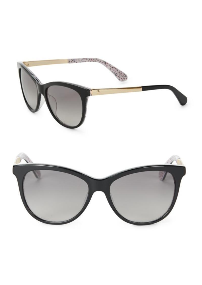 080e45956a Kate Spade Kate Spade New York 55MM Jizelle Cat Eye Sunglasses ...