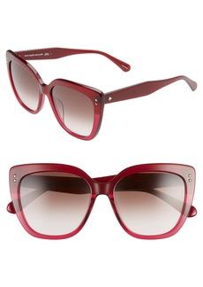 kate spade new york 55mm kiyannas cat eye sunglasses