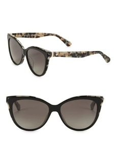 Kate Spade New York 56MM Polarized Cat Eye Sunglasses