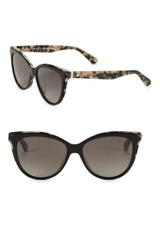 Kate Spade New York 56MM Cat Eye Sunglasses