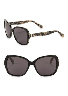 Kate Spade New York 56MM Karalyn Oversized Sunglasses