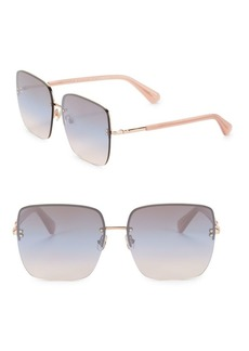 Kate Spade New York 61MM Janays Square Sunglasses