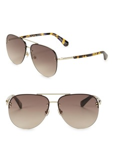 Kate Spade New York 62MM Jakaylas Aviator Sunglasses