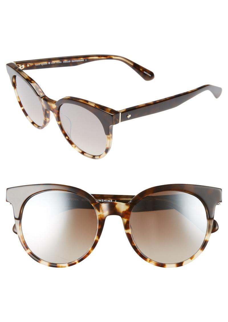 9d31c2bb89 Kate Spade kate spade new york abianne 51mm round sunglasses ...