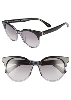 kate spade new york abianne 51mm round sunglasses