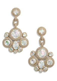 kate spade new york 'absolute sparkle' statement earrings