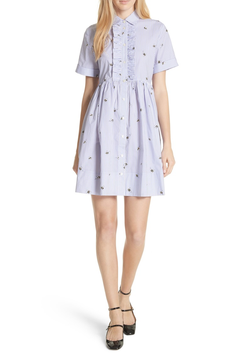 a66080286f Kate Spade kate spade new york abuzz poplin shirtdress