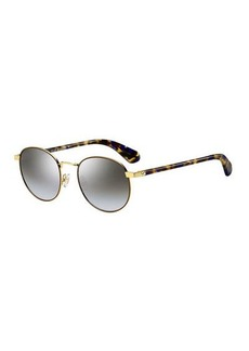 adelais round sunglasses