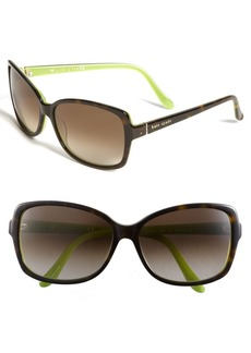 kate spade new york 58mm two-tone sunglasses