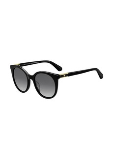 kate spade new york akaylas round gradient sunglasses