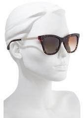 kate spade new york alexane 53mm polarized cat eye sunglasses
