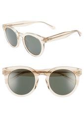 kate spade new york alexuss 50mm round sunglasses