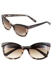 kate spade new york 'amaras' 55mm sunglasses