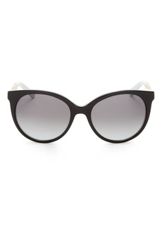 kate spade new york Women's Amaya Cat Eye Sunglasses, 53mm