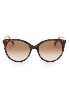 kate spade new york Women's Amaya Cat Eye Sunglasses, 53mm