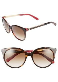 kate spade new york 'amayas' 53mm cat eye sunglasses