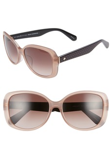 kate spade new york amberlyn 57mm special fit square sunglasses