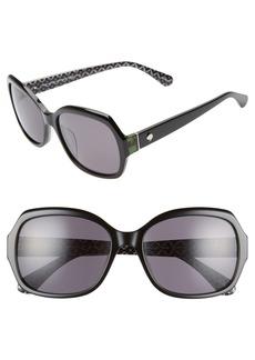 kate spade new york amberlynn 57mm sunglasses