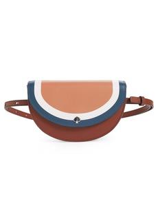 kate spade new york andi stripe small half-moon belt bag