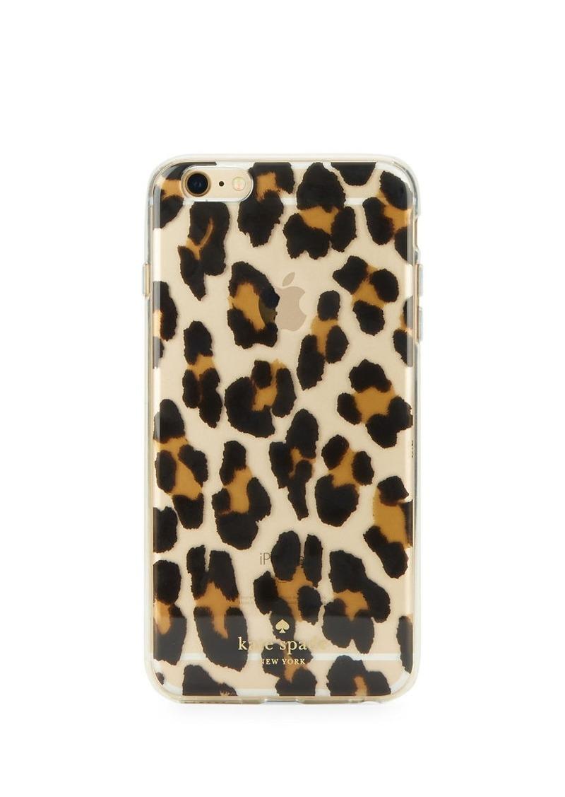 KATE SPADE NEW YORK Animal-Print iPhone 6 Plus Case