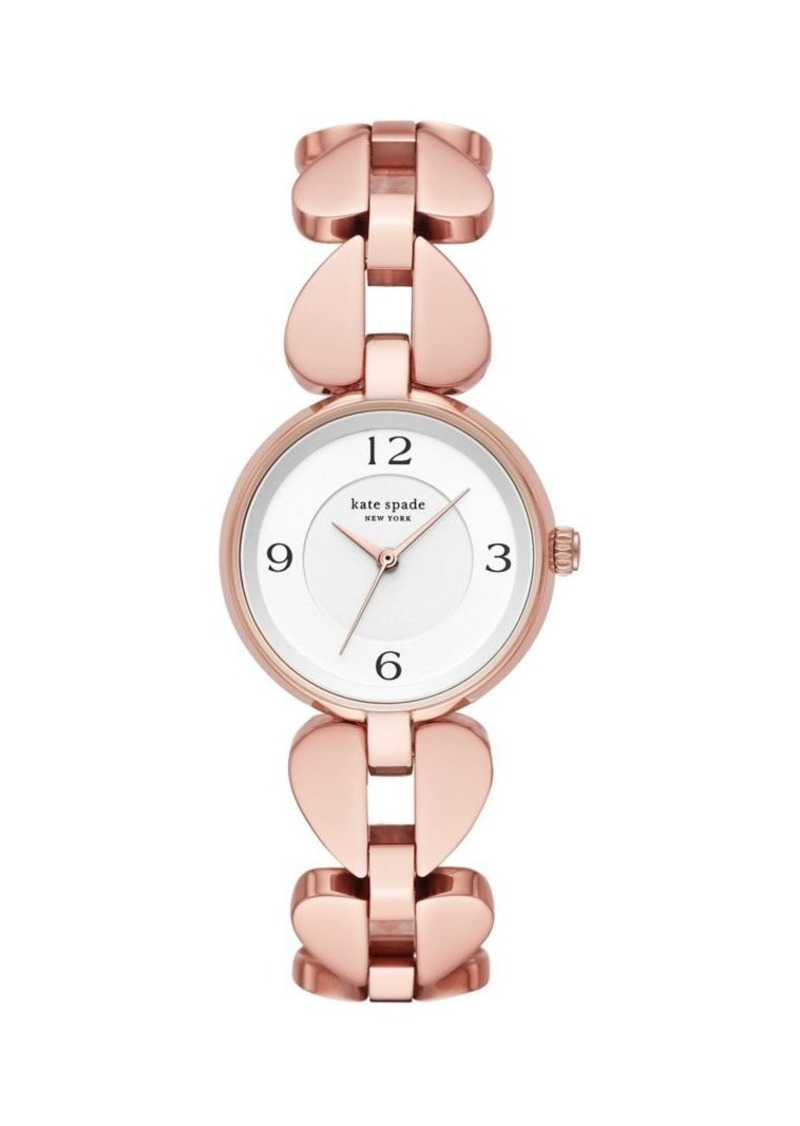 Kate Spade New York Annadale Rose Goldtone Bracelet Watch