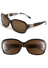 kate spade new york annika/p/s 56mm polarized sunglasses