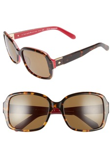 kate spade new york annor 54mm polarized sunglasses
