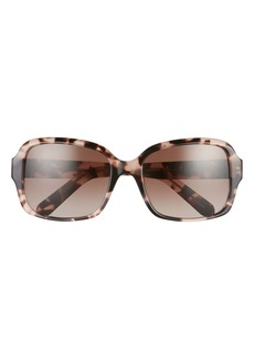 kate spade new york annorps 54mm gradient square sunglasses