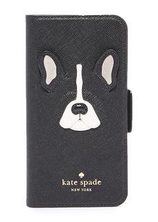 Kate Spade New York Antoine Applique Folio iPhone 7 Case