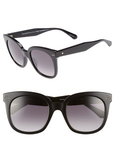 kate spade new york atalias 52mm square sunglasses