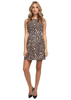 Kate Spade New York Autumn Leopard Domino Dress