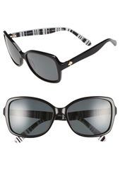 kate spade new york 'ayleen' 56mm polarized sunglasses