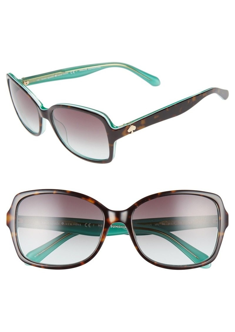 kate spade new york 'ayleens' 56mm sunglasses