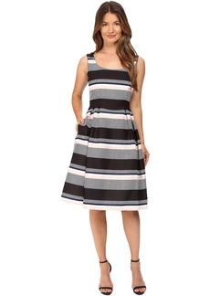 Kate Spade Bay Stripe Fit and Flare Dress