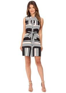 Kate Spade New York Bay Stripe Sleeveless Dress